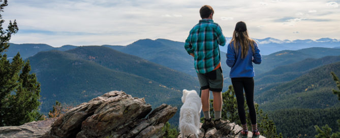 couple hiking ads precise dental transitions