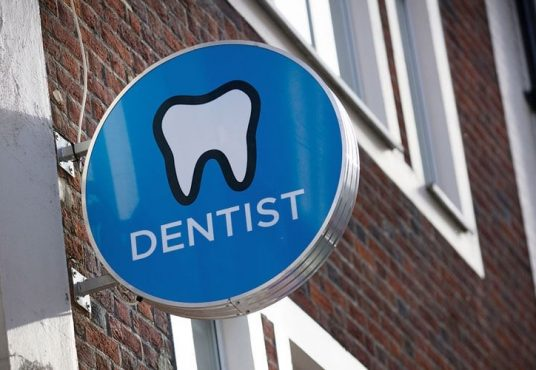 Image depicting a Dental Practice sign ads precise dental trainsitions